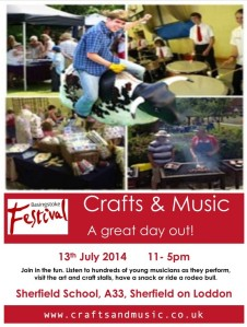 crafts and Music Flier