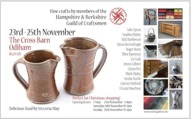 Craft Fayre at Odiham in Hampshire 24th and 25th November 2012